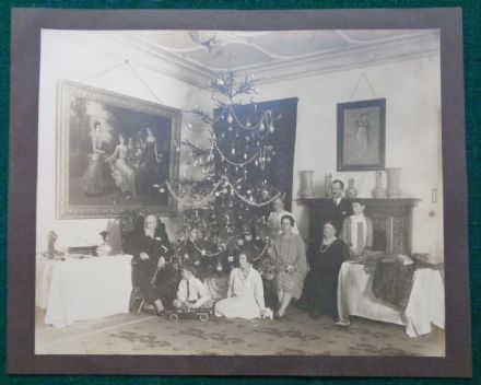 Grand Duke Kirill Romanov of Imperial Russia & Family Antique Photo Christmas